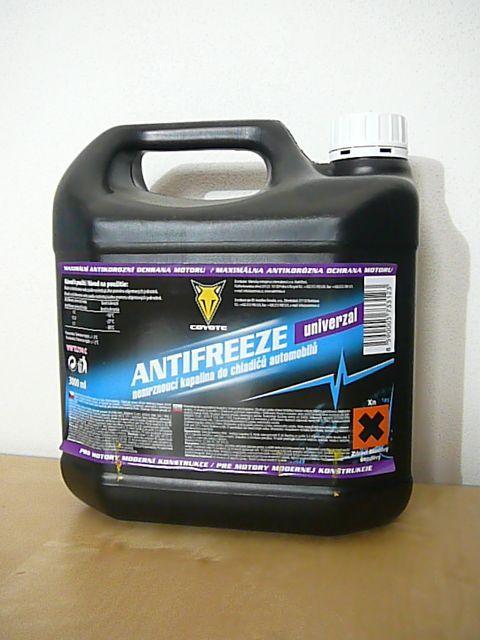 COYOTE Antifreeze Univerzal chladicí kapalina