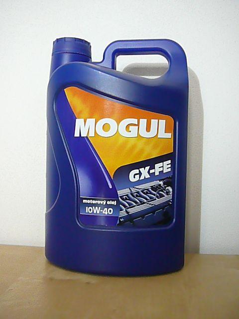 MOGUL GX-FE 10W-40 - polosyntetický olej pro moderní benzinové a naftové motory - PE kanystr 4 l