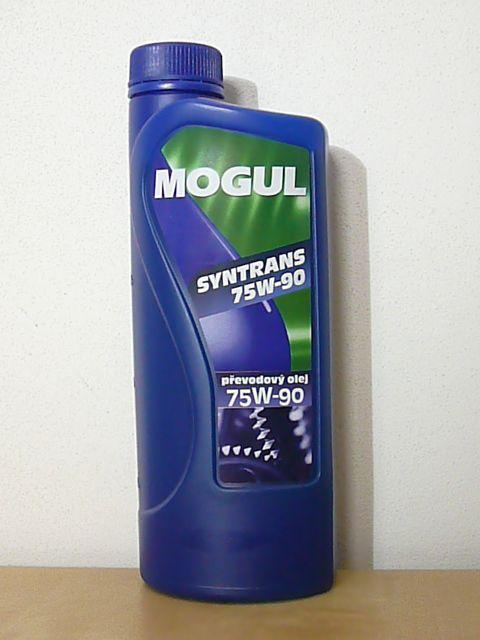 MOGUL SYNTRANS 75W-90 převodové oleje pro vysoké tlaky - vícestupňové