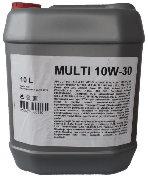 Multi 10W-30 10l Carline