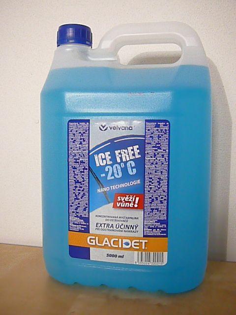 Velvana Glacidet ICE FREE -40°C nemrznoucí kapalina do odstřikovačů