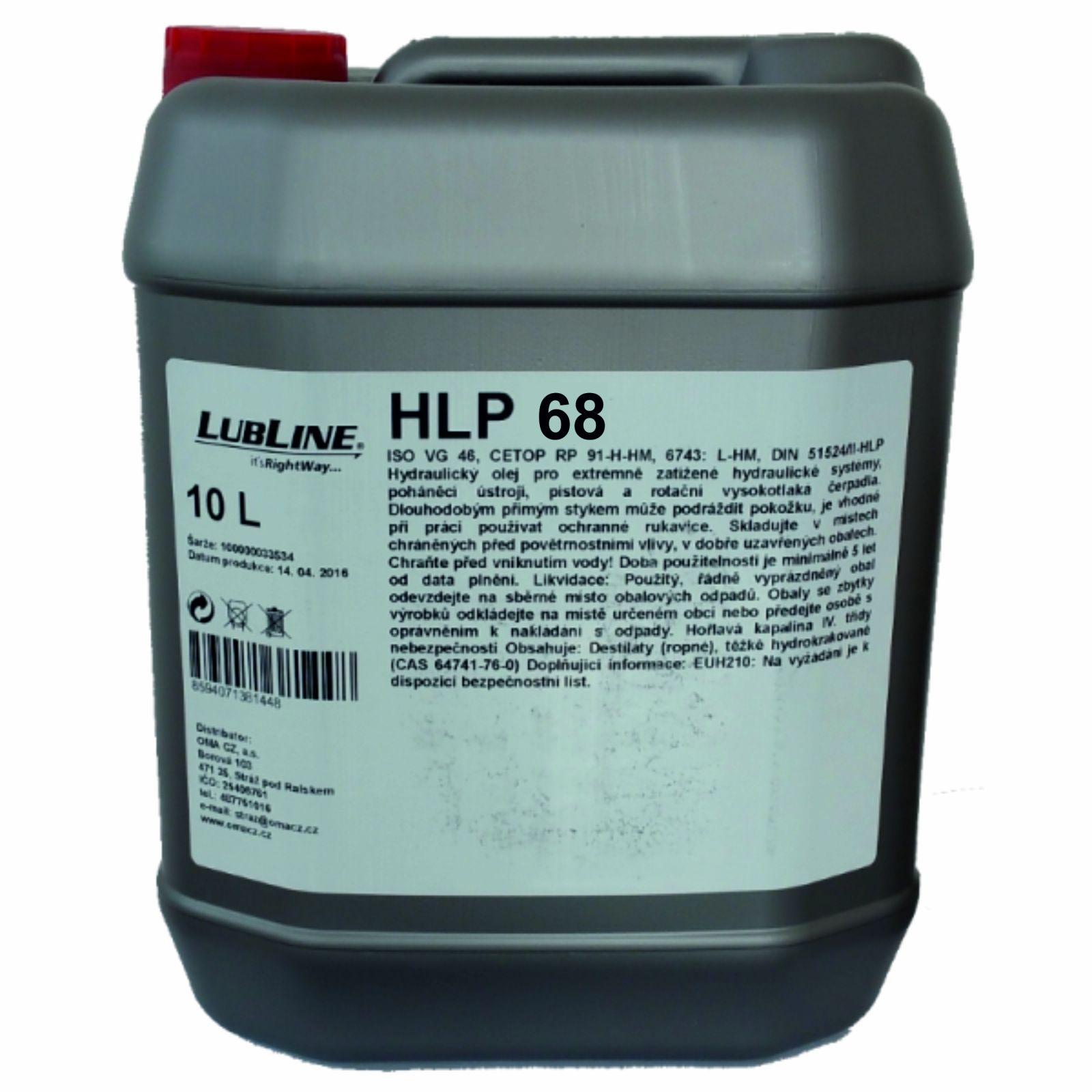 Carline Lubline HLP 68 (HM 68 -) 30 L