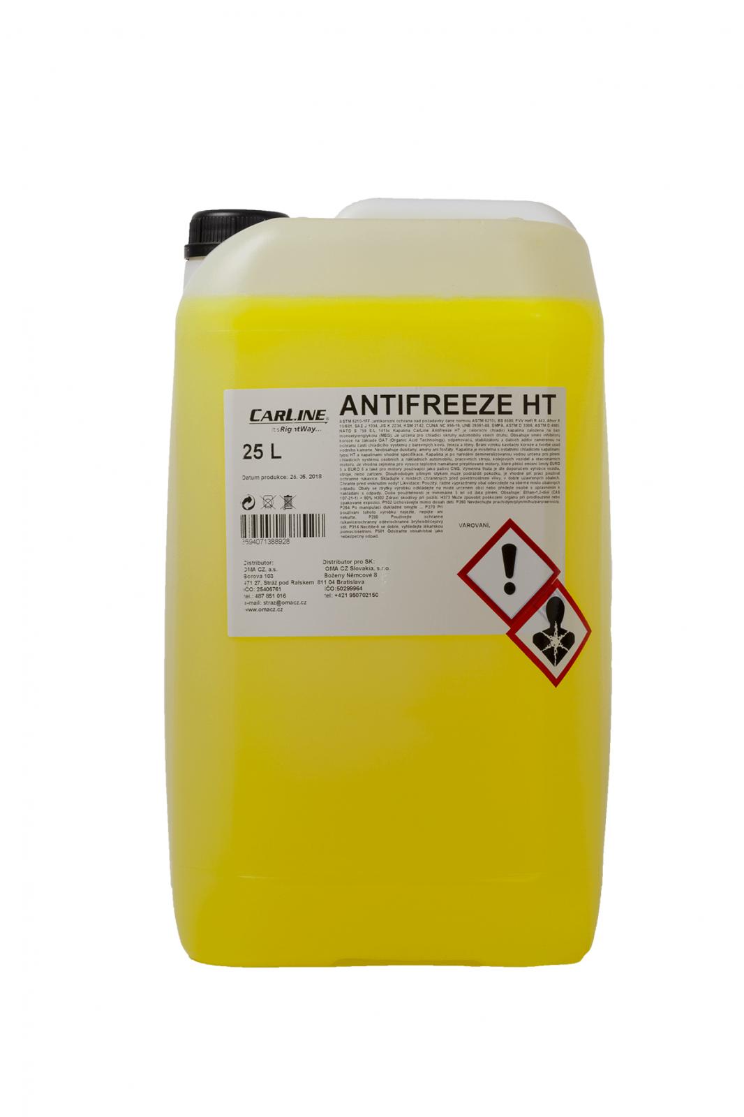 Carline Antifreeze HT 25 L