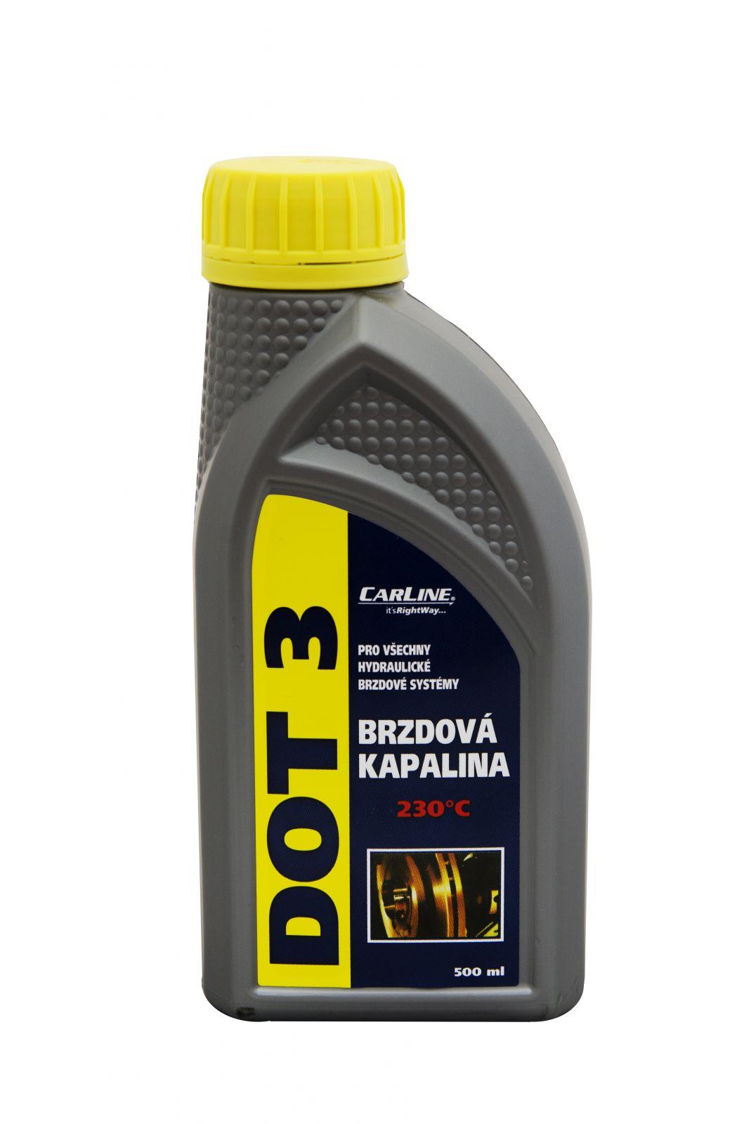 Carline Brzdová kapalina DOT3 - 500 ml