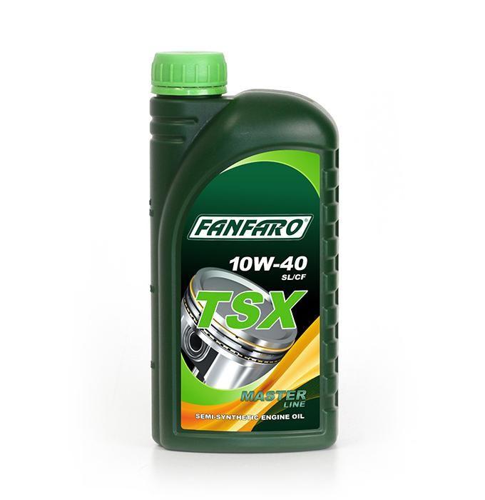 Fanfaro částečně syntetický motorový olej TSX 10W - 40 – 1l