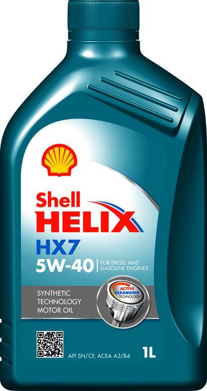 Shell Helix HX7 5W-40 - 1 L