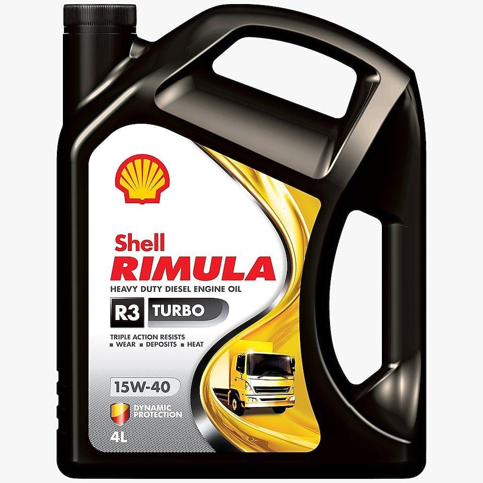 Shell Rimula R3 Turbo 15W-40 – 3x5L