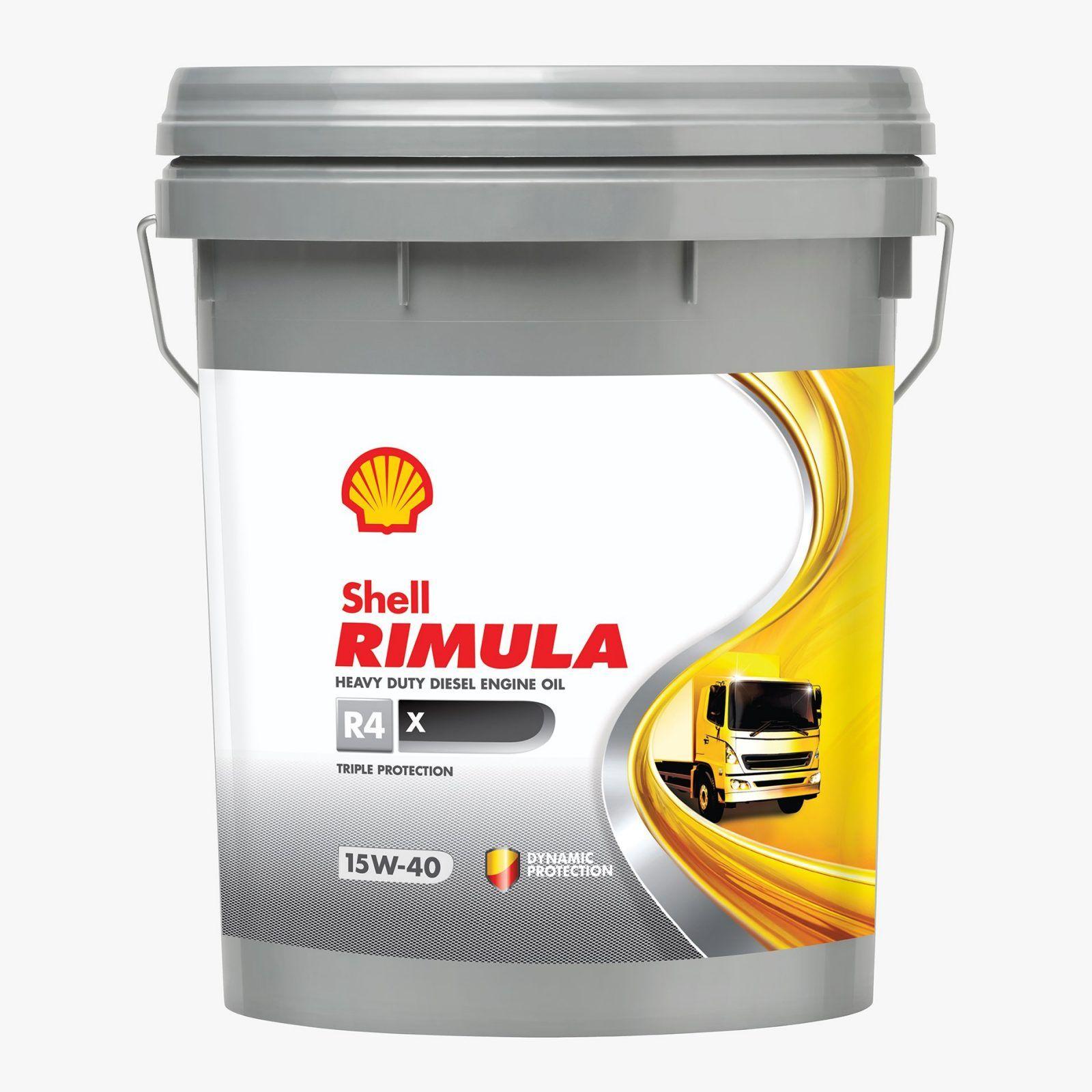 Shell Rimula R4 X 15W40 – 20L