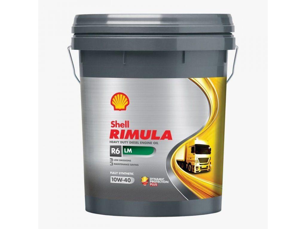 Shell Rimula R6 LM 10W-40 – 20L