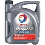 Total QUARTZ INEO MC3  5W-40  - 5L
