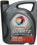 Total QUARTZ INEO LONG LIFE 5w- 30 - 5 L